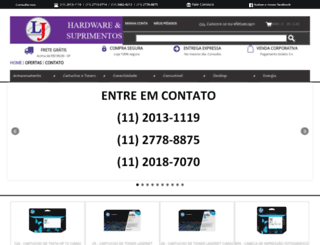 ljsuprimentos.com.br screenshot