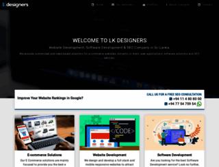 lkdesigners.com screenshot