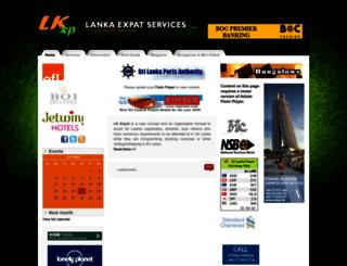 lkexpats.com screenshot