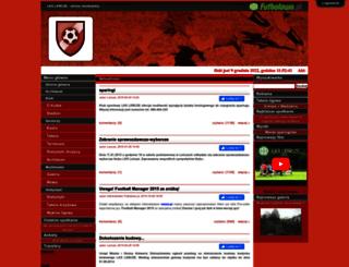 lkslencze.futbolowo.pl screenshot