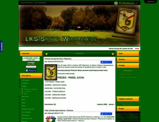 lksskawawitanowice.futbolowo.pl screenshot