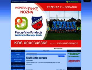 lksstudzienice.futbolowo.pl screenshot