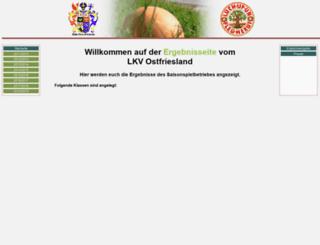 lkv-ostfriesland.bosselergebnis.info screenshot