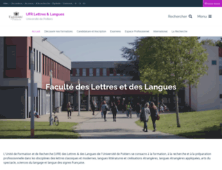 ll.univ-poitiers.fr screenshot