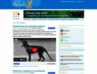 llamaloxblog.es screenshot