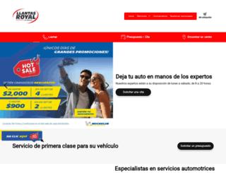 llantasroyaldesinaloa.com screenshot