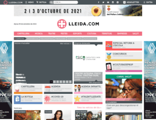 lleida.com screenshot