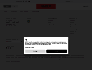 lloyd.com screenshot