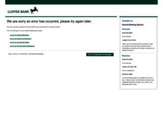 lloydsbankwholesale.com screenshot