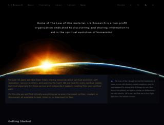llresearch.org screenshot