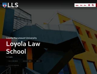 lls.edu screenshot