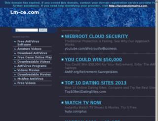lm-ce.com screenshot