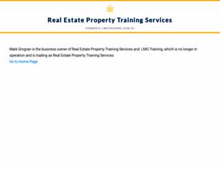 lmgtraining.com.au screenshot