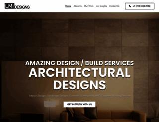 lmidesigns.com screenshot