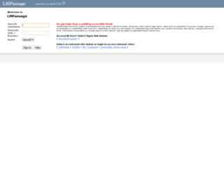 lmpassage3.external.lmco.com screenshot