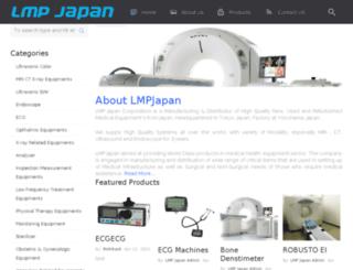 lmpjapanmedical.com screenshot