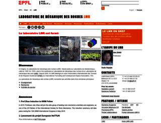 lmr.epfl.ch screenshot