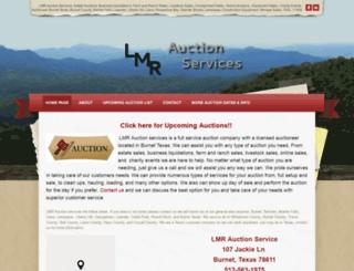 lmrauction.com screenshot