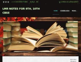 lmrcbse.weebly.com screenshot