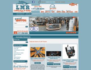 lmrtackle.com screenshot