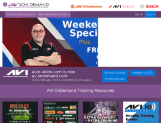 lms.aviondemand.com screenshot