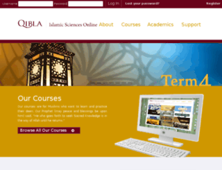 lms.qibla.com screenshot