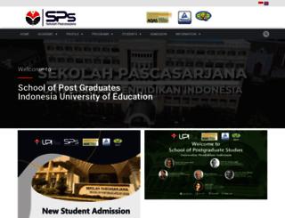 lms.sps.upi.edu screenshot