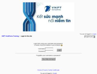 lms.vdctraining.vn screenshot
