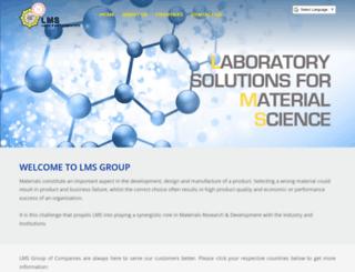 lmsscientific.com screenshot