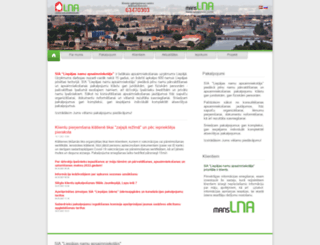 lna.lv screenshot