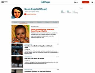 lnangel.hubpages.com screenshot
