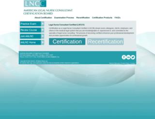 lncc.aalnc.org screenshot