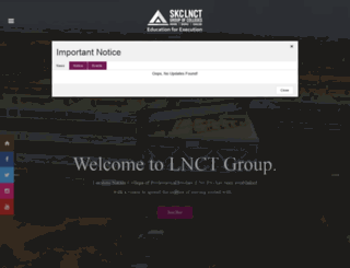 lnctgroup.in screenshot