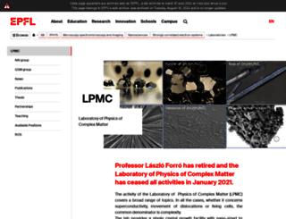 lnnme.epfl.ch screenshot