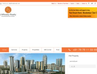 lnreddyrealty.com screenshot