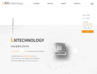 lnt.co.kr screenshot