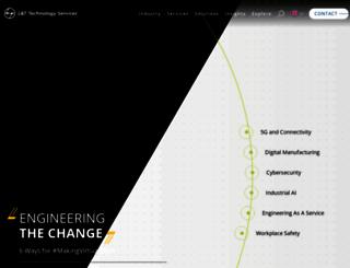 lnttechservices.com screenshot