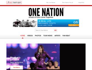 lntv-production.herokuapp.com screenshot