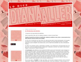 lo-dice-diana-aller.blogspot.com.es screenshot