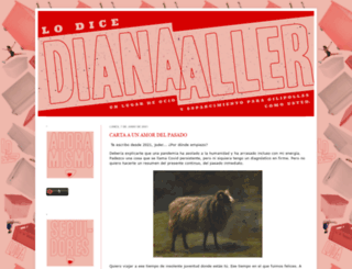 lo-dice-diana-aller.blogspot.com screenshot