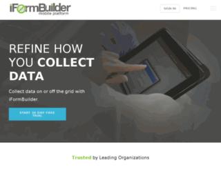 load.iformbuilder.com screenshot