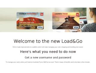loadandgo.auspost.com.au screenshot