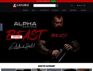 loadedlifting.com.au screenshot