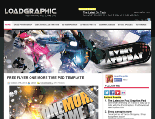 loadgraphic.com screenshot