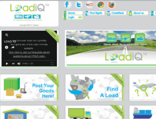 loadiq.co.za screenshot