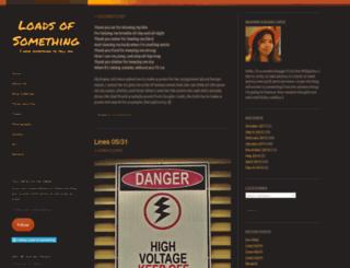 loadsofsomething.wordpress.com screenshot