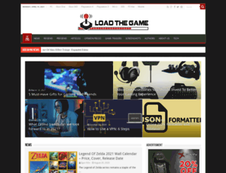 loadthegame.com screenshot