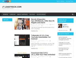 loadtrick.com screenshot