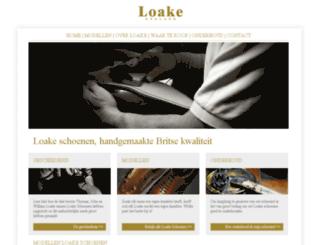 loake-schoenen.nl screenshot