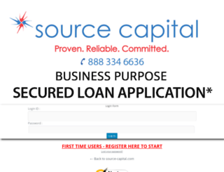 loanapp.source-capital.com screenshot